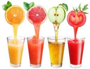 Свежевыжатый сок для похудения